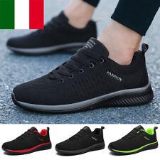 Uomo donna Scarpe Da Corsa Walking Ginnastica Sportive Casual Sneakers Passeggio
