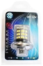 1 AMPOULE LED BLANC 12V H7 4,8W 48 LED 5050 SMD + 3528 SMD MASERATI 3200 GT