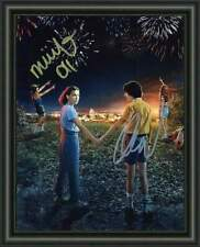 STRANGER THINGS - Millie Bobby  Brown Finn A4 SIGNED PHOTO POSTER - FREE POSTAGE