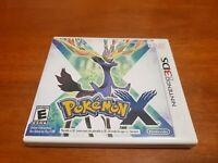 Pokemon X (Nintendo 3DS) Original Case Only