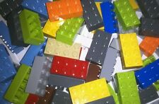 Lego Lot of 50 Assorted Blocks Bricks  2 X 4!