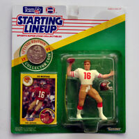1991 Kenner Starting Lineup Joe Montana SF 49ers Action Figure