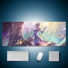 League of Legends Lux Angel Element Game Mouse Pad Large Table Mat 80*30cm