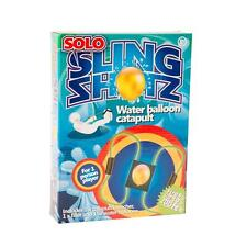 SOLO SLING SHOTZ WATER BALLOON CATAPULT WATER BOMB TARGET GAME OUTDOOR FUN NEW