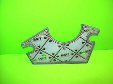 Stern WORLD POKER TOUR Original NOS Arcade Pinball Machine Playfield Plastic #3