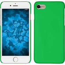 Hardcase Apple iPhone 7 / 8 rubberized green Cover + protective foils