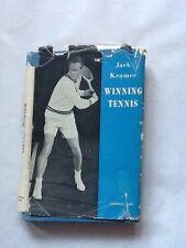 Winning Tennis by Jack Kramer