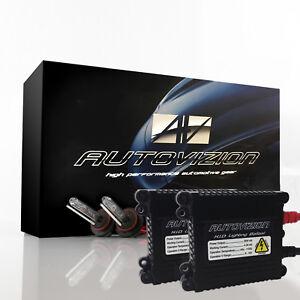 Autovizion 55W Xenon Lights Slim HID Kit for Cadillac ATS BLS CT6 CTS SRX DeVill