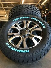 Ford Ranger Wildtrak Genuine 18 Inch And 285/60/18 Monsta All Terrain Tyres New
