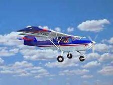 Kitfox Sport Denney Aircraft Airplane Desk Wood Model Small New