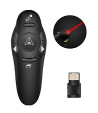 Wireless Presenter PowerPoint Presentation Remote Control PPT Clicker Pen WW