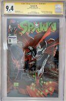 Spawn #8 (February 1993, Image) CGC 9.4 SIGNED