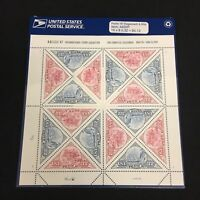 Sealed United States USPS Stamp Sheet Pacific '97 Stagecoach & Ship .32 Sct 3130
