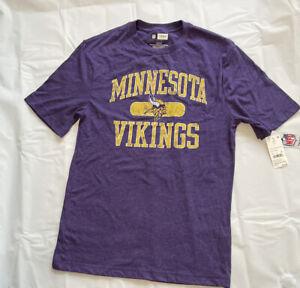 NEW!! NFL  MINNESOTA VIKINGS Lady's T SHIRT  Size Small