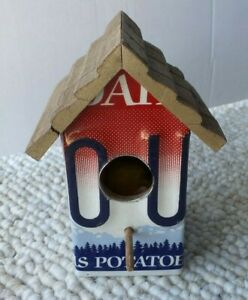 License Plate Birdhouse Made By The Inmates Of The Idaho Correctional Industies