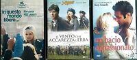 KEN LOACH - BACIO APPASION.+IN QUESTO MONDO LIBERO +IL VENTO.. 3 DVD EX NOLEGGIO