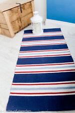 Chenille Striped Kitchen Rugs