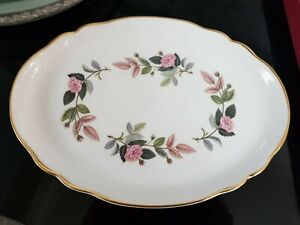 Wedgewood Hathaway Rose Oval Serving Plate