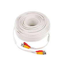 150' ft. High Quality Video Power BNC Cable for Lorex, Q-SEE CCTV Cameras White
