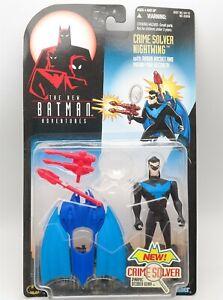 "Vtg 1997 Kenner Batman Nightwing Crime Solver 5"" Action Figure Very Nice"