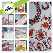 Cross Stitch Embroidery Border Patterns for Towel Table runner Tablecloth / SN