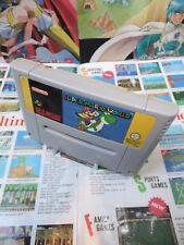 Super Nintendo SNES:Super Mario World [TOP & 1ERE EDITION] SEUL - Fr