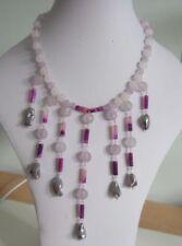 Silver Plated Quartz Stone Costume Jewellery