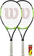2 x Wilson Advantage XL Tennis Rackets + 3 Balls RRP £90