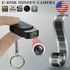 Mini Hidden USB Flash Drive Pinhole Camera U Disk HD DVR Video Recorder Cam US