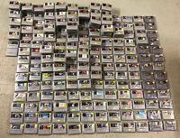 180 versch. Super Nintendo Spiele Große SNES GAME MODUL AUSWAHL TOP VIELE TITEL