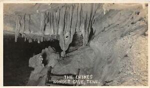 H48/ Wonder Cave Tennessee Postcard RPPC c1920s Cave Interior Formations