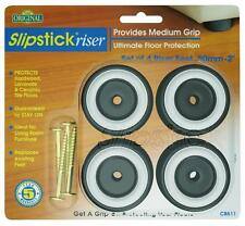 "Slipstick CB511 1"" Tall (50mm diam) Riser Gripper Feet (Set of 4)"