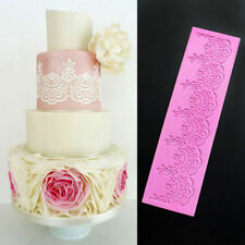 Flower Lace Silicone Fondant Icing Mould Wedding Cake Mold Decoration Sugarcraft