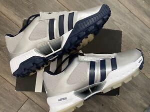 NIB Adidas Adistar Silver Hockey Field Hockey Run Shoes Trainers Size 10