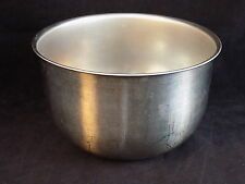 2 quart stainless steel mixing bowl generic silver dish