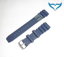 Citizen Bracelet Caoutchouc 59-g0069 20 mm ny0040-17l ny0040-17le ay5000 Bleu Bande