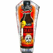 Blair's Ultra Death Sauce in Coffin  *Brand New*
