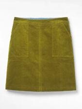 New White Stuff ivy Green  Clocktower Cord Corduroy Skirt UK 18