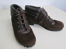 vtg Gaymode Penney's Retro Brown Leather Suede Hiking Trekking Trail Boots 8 B
