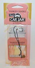 YANKEE CANDLE LINE DRIED COTTON CLASSIC CAR JAR AIR FRESHENER CLOSET RV