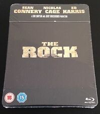 THE ROCK Limited Edition Blu-Ray SteelBook UK Region Free Sean Connery. New Rare