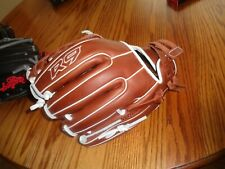 "Rawlings R9 Series 11.75"" Fastpitch Softball Glove: R9SB715-6DB"