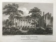 1810 Antique Print; Whitefriars (Herbert Art Gallery) Coventry after T.White