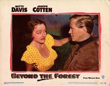 BEYOND THE FOREST • Lobby Card Set • 1949 • Warner • Bette Davis, Joseph Cotten