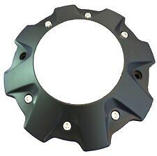 FUEL Black with Chrome Rivet Wheel Center Cap # 1001-63-B, M-447