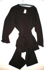 NWT $795 Womens 16 Max Mara Marina Rinaldi Jacket Dark Red Wine Wool Belt New