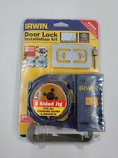 Irwin Multi-Purpose Door Lock Installation Kit For Metal and Wood Doors 3111002