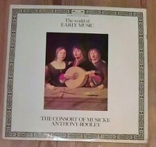 Anthony Rooley – The World Of Early Music Vinyl LP Sampler Stereo 33rpm 1979