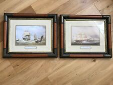 Wooden Framed Shipping / Boating Pictures By William Huggins And HW Affrey