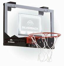 "Silverback 23"" Led Light-Up Over the Door Mini Basketball Hoop Black 23"""